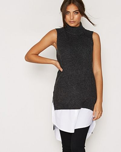 NMKUNI S/L HIGH NECK KNIT DRESS Vero Moda klänning till dam.
