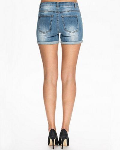 Blå jeansshorts från Noisy May till tjejer.