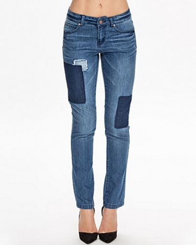 Noisy May Nmlotus Straight Patch Jeans