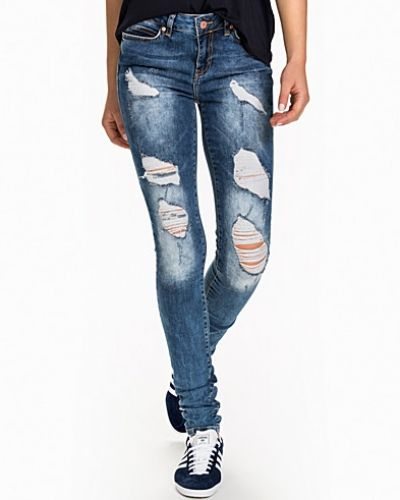 Noisy May NMLUCY NW SUPER SLIM JEANS BA504 X