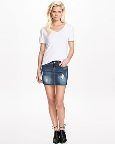 Nmlusa Short Skirt Noisy May jeanskjol till tjejer.