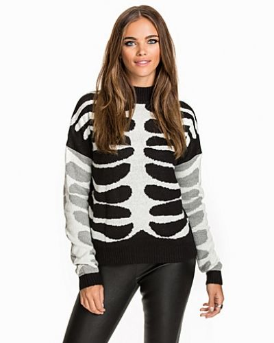 Noisy May NMRIB L/S FUNNEL NECK KNIT TOP
