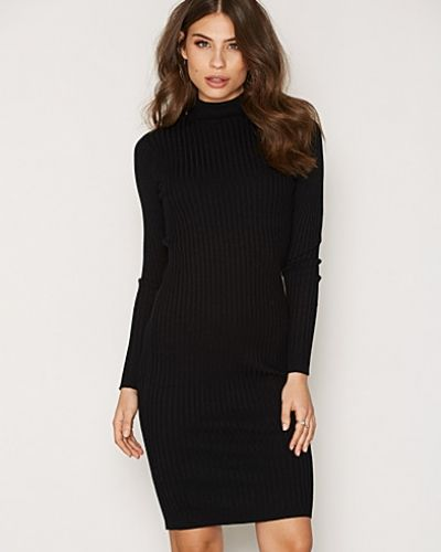 NMRIMI L/S HIGH NECK KNIT DRESS - B Noisy May klänning till dam.