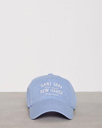 Blå huvudbonad från Gant till dam.