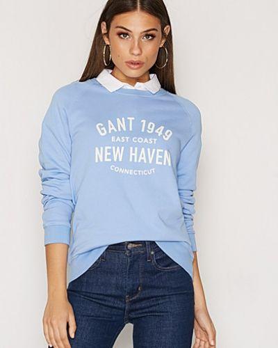 Till dam från Gant, en blå sweatshirts.