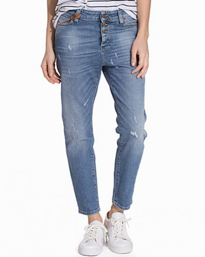 Boyfriend jeans OBJANTIFITALLY ZIP LW OBL455 NOOS från Object Collectors Item