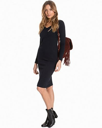 Object Collectors Item OBJMORGAN L/S V-NECK KNIT DRESS