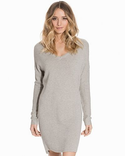 Object Collectors Item OBJNADINE L/S KNIT DRESS EX PS