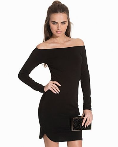 NLY Trend Off Duty Shoulder Dress