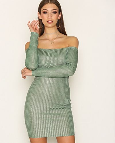 NLY Trend Off Shoulder Luxury Dress