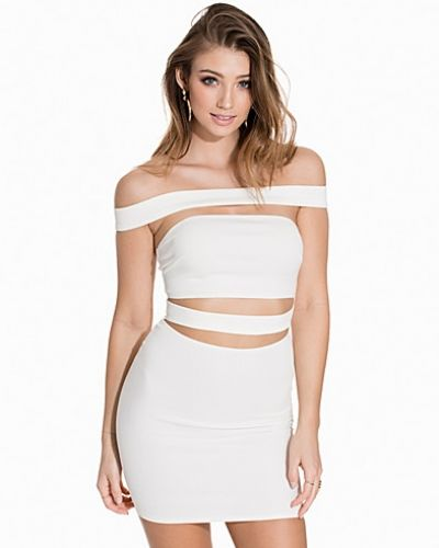 NLY One Off Shoulder Slash Dress