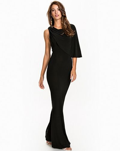 Club L One Shoulder Grecian Dress