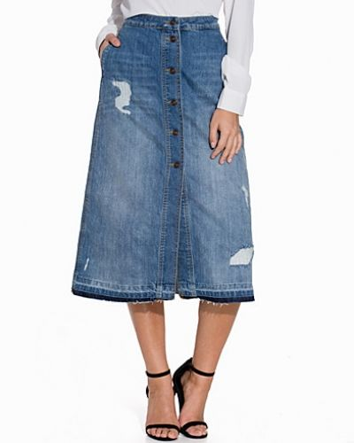 ONLY jeanskjol till tjejer.