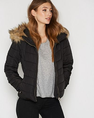 ONLY onlELLAN QUILTED HOOD FUR JACKET OT