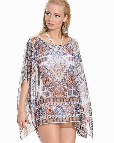 ONLY onlEMILIE IKAT BEACH PONCHO ACC