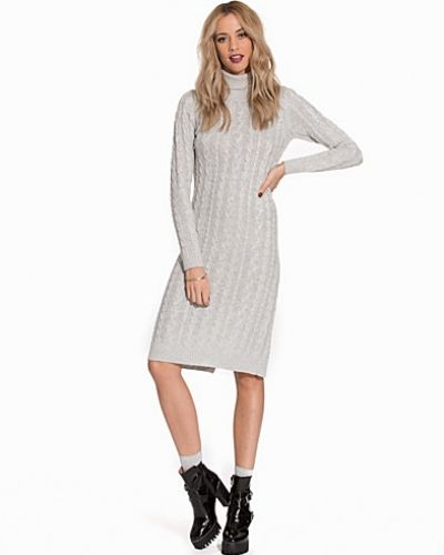 ONLY onlJASMINA L/S LONG SLIT DRESS KNT