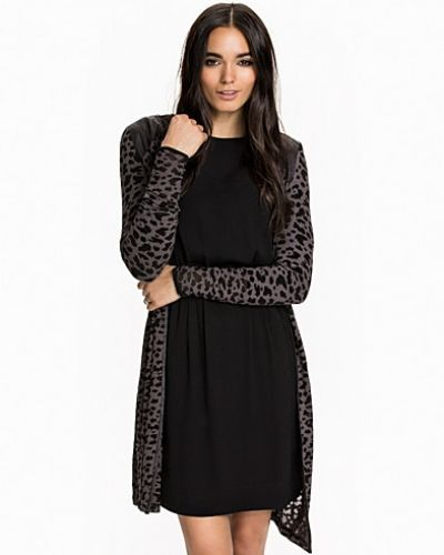 ONLY onlLEOPARD L/S LONG CARDIGAN KNT