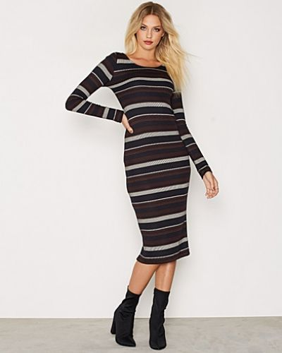 ONLY onlNEW BROOKS L/S CALF DRESS ESS