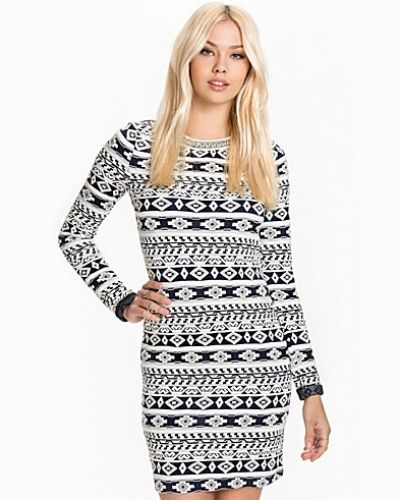 ONLY onlOLYMPIA L/S DRESS JRS