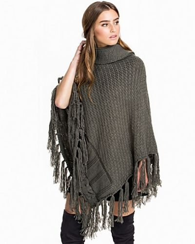 ONLY onlSOLANGE KNIT TURTLENECK PONCHO A