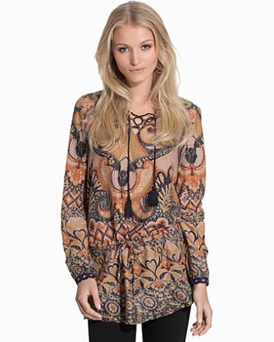 ONLY onlZAHARA L/S PRINT MIX TUNIC WVN