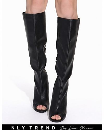 NLY Trend Open Toe Wedge Boot