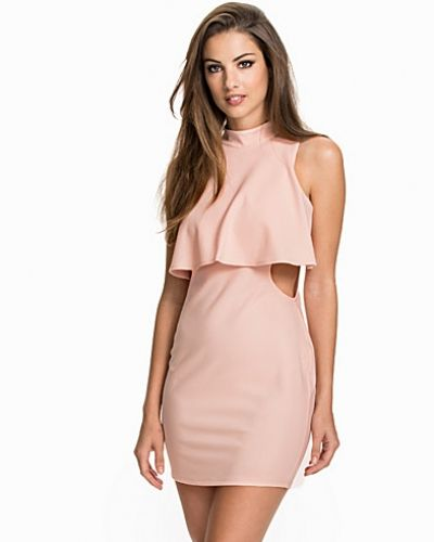 NLY One Overlap Cut Out Dress