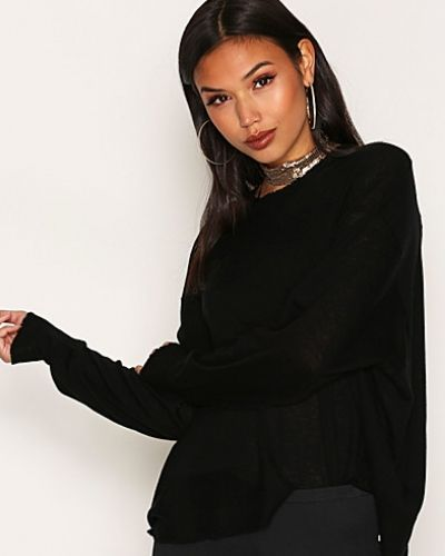 T By Alexander Wang Oversized Crew Pullover