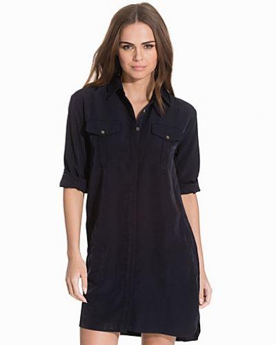 Oversized Cupro Shirtdress Topshop skjortklänning till dam.