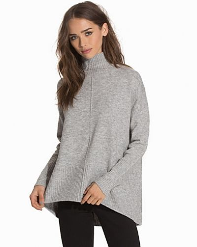 Topshop Oversized Funnel Neck Jumper