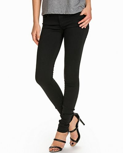 Blå slim fit jeans från Replay till dam.