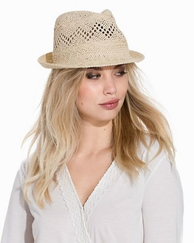 Pieces PCTASMIN SMALL STRAW HAT