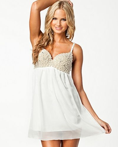 Club L Pearl Bustier Dress