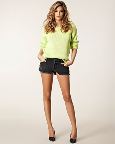 River Island Peekaboo Denim Shorts