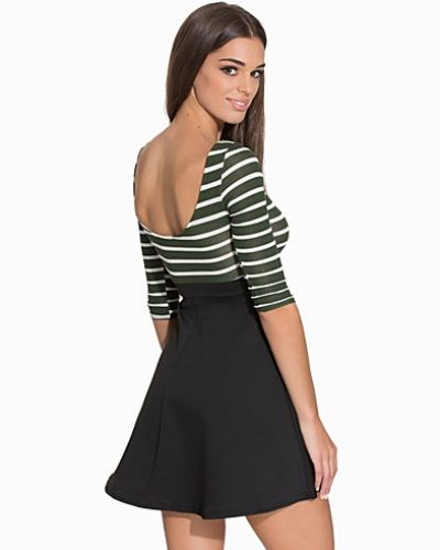 Club L Essentials Pin Stripe Skater