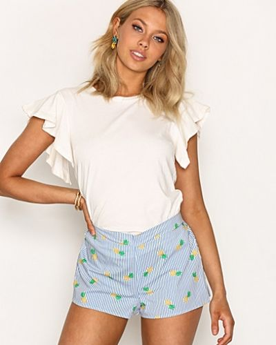 New Look Pineapple Stripe Shorts