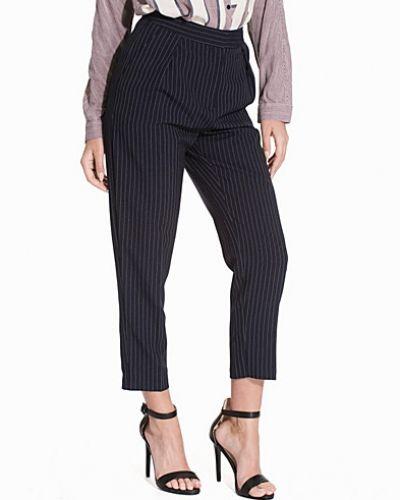 Topshop Pinstripe Peg Trousers
