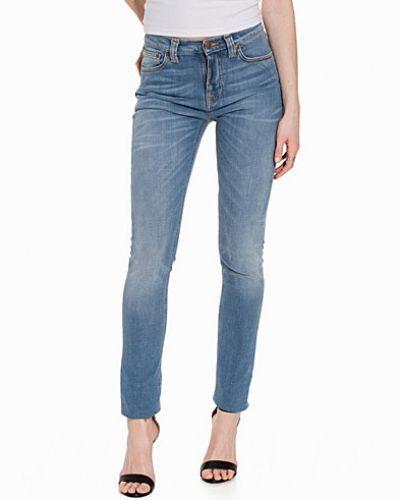 Slim fit jeans Pipe Led Crispy Peppar från Nudie Jeans