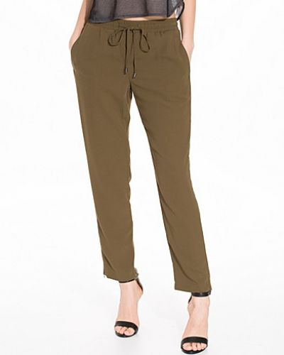 Topshop Piped Cuffless Jogger
