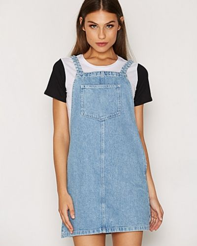 Jeansklänning Plait Strap Denim Dress från Topshop