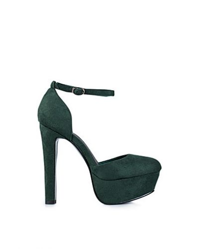 Nly Shoes Platform Ankle Strap Pump
