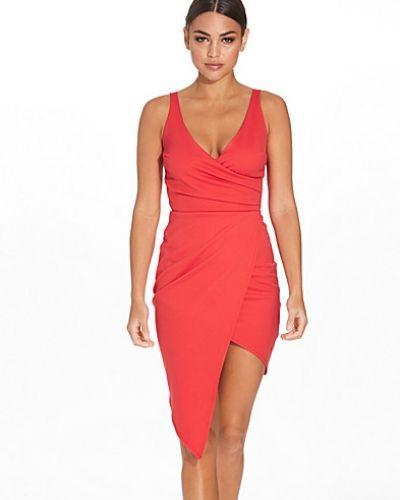 Fodralklänning Pleated Wrap Skirt Dress från NLY One