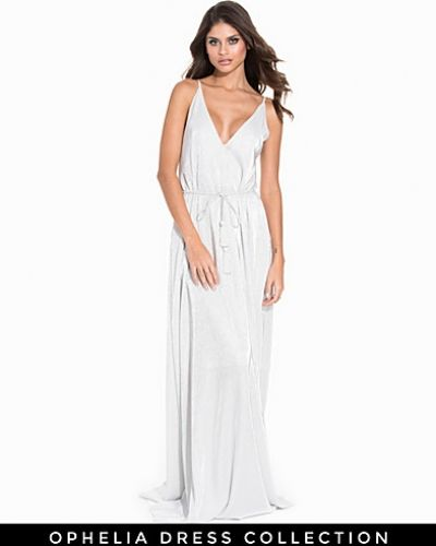 Nly Eve Plisse Belt Gown