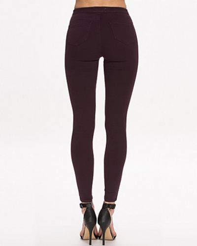 Miss Selfridge Plum Super High Waist Jeans