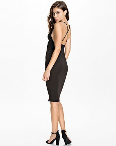 Plunge Bodycon Midi Dress Oh My Love midiklänning till dam.
