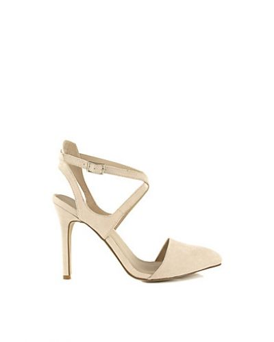 Nly Shoes Pointed Open Heel Pump