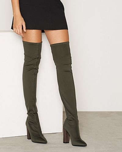 Nly Shoes Pointy Stretchy Thigh Boot