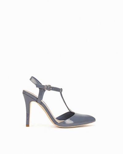 Nly Shoes Pointy T-Bar Pump