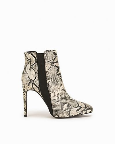 Nly Shoes Pointy Toe Snake Boot