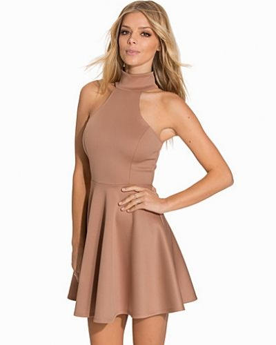 NLY One Polo Neck Skater Dress